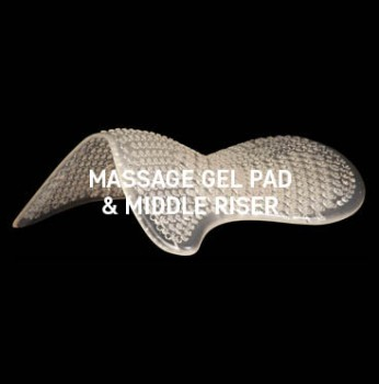 Acavallo - Massage Gel Pad Middle Riser