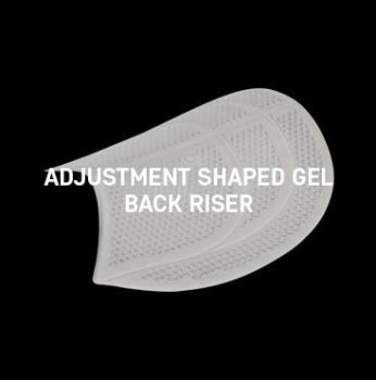 Acavallo - Adjustment Shaped Gel Back Riser