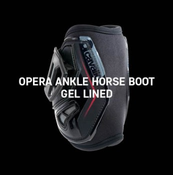 Acavallo - Opera Front Horse Boots Gel Lined