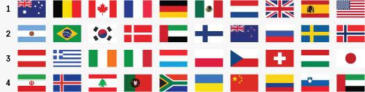 Opera Stirrup Flag Sets