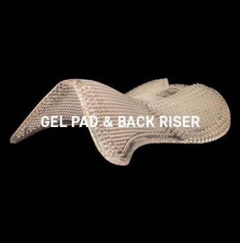 Acavallo - Gel Pad Back Riser