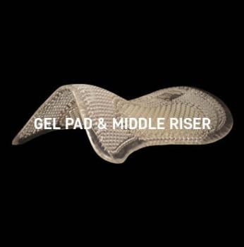 Acavallo - Gel Pad Middle Riser