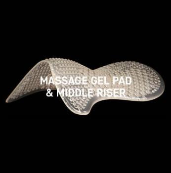 Acavallo - Massage Gel Pad Middle Riser