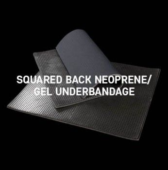 Acavallo - Squared Back Neoprene Gel Underbandage