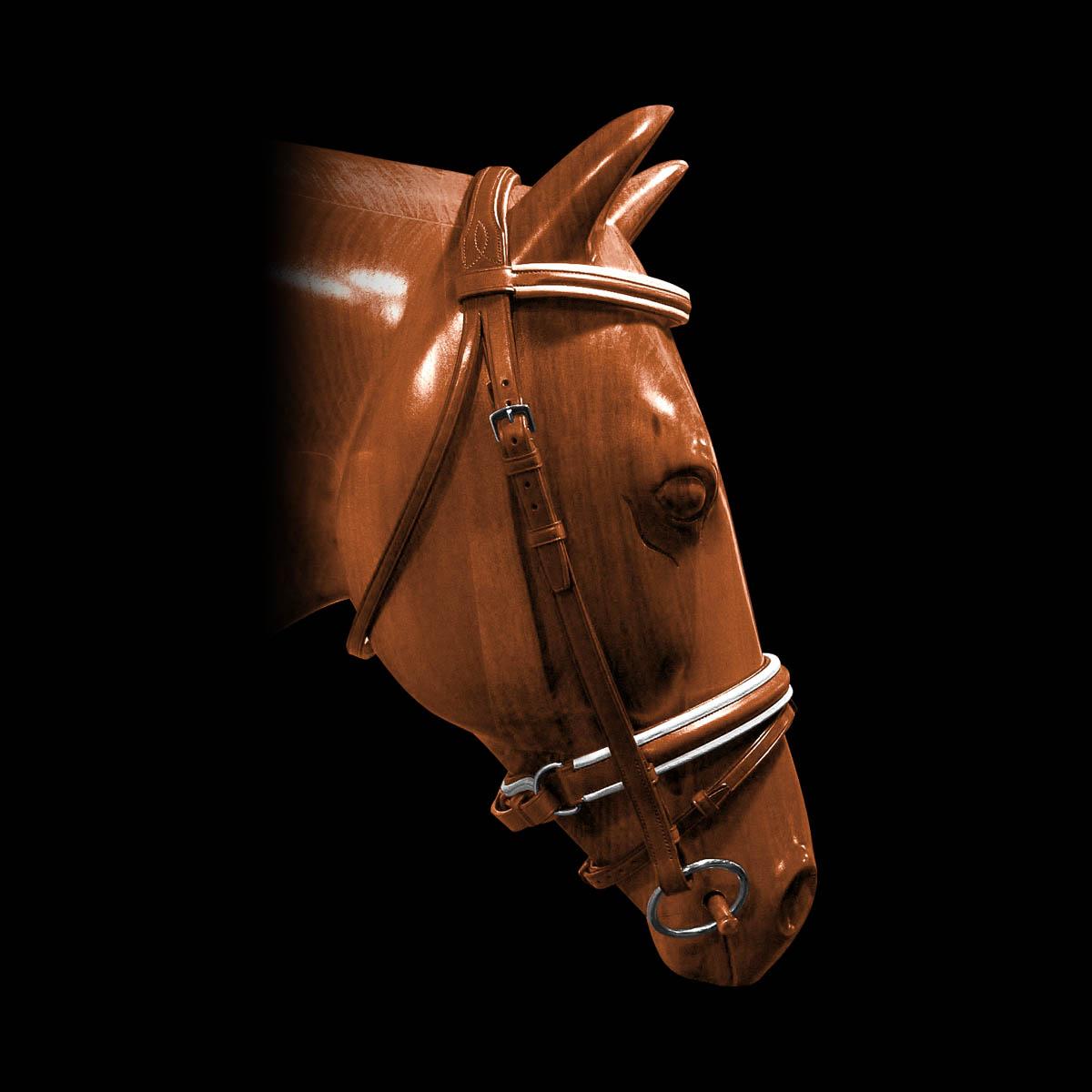 Acavallo - Wood Horse Head