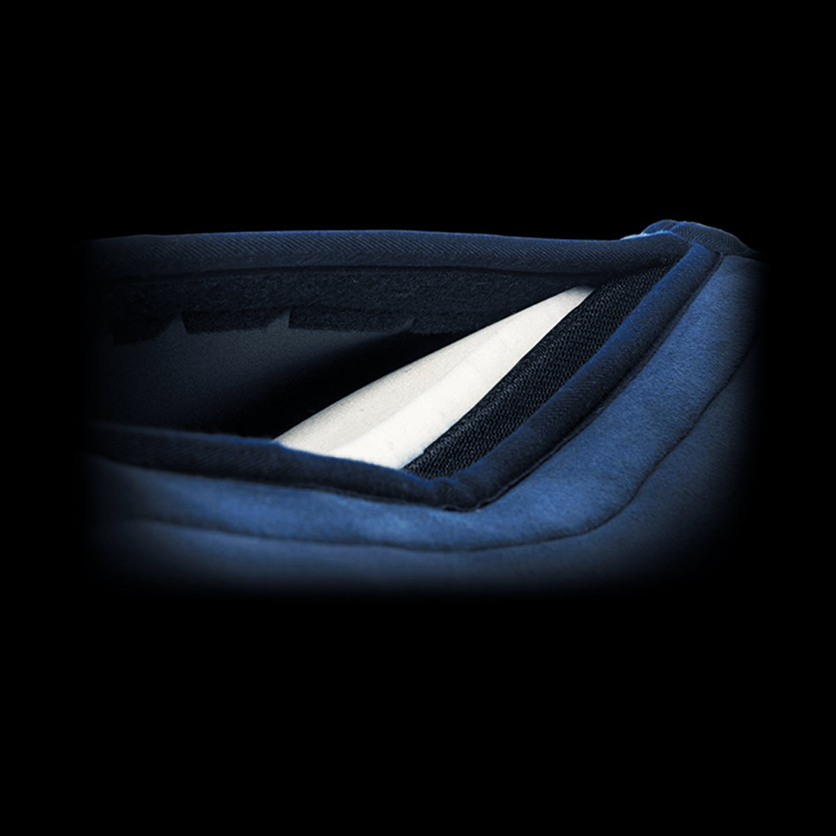 Acavallo - Pocket Gel & Memory Foam Half Pad With Risers