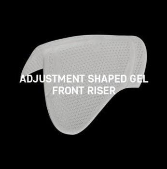 Acavallo - Adjustment Shaped Gel Front Riser