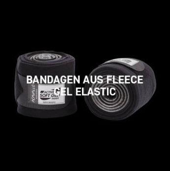 Acavallo - Fleece Gel Elastic Bandage