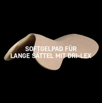 Acavallo - Long Panel Soft Gel Pad Dri-Lex