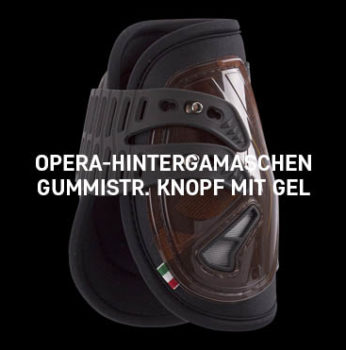 Acavallo - Opera Back Horse Boot Hook Eclick Fastening