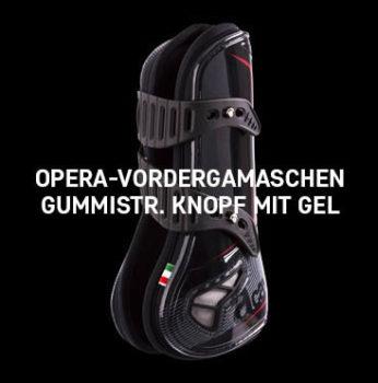 Acavallo - Opera Front Horse Boot Hook Eclick Fastening